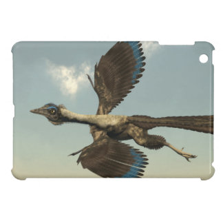 Archaeopteryx birds dinosaurs flying - 3D render iPad Mini Case