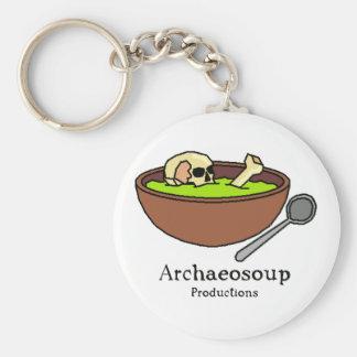 Archaeosoup Badge Key Ring