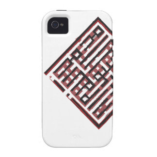 Archaic Red&Black Case-Mate iPhone 4 Cases
