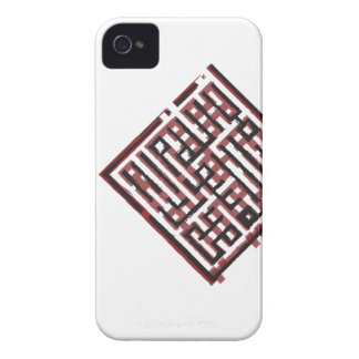 Archaic Red&Black iPhone 4 Covers