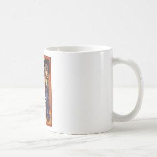 Archangel Gabriel - Annunciation - Schongauer Coffee Mug