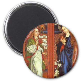 Archangel Gabriel - Annunciation - Schongauer Magnet