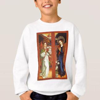Archangel Gabriel - Annunciation - Schongauer Sweatshirt