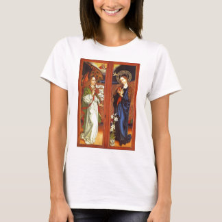 Archangel Gabriel - Annunciation - Schongauer T-Shirt