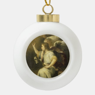 Archangel Gabriel, Fine Art Christmas ornament