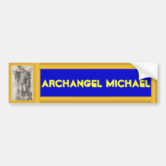 Archangel Michael bumper stcker Bumper Sticker