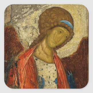 Archangel Michael c1414 Square Sticker