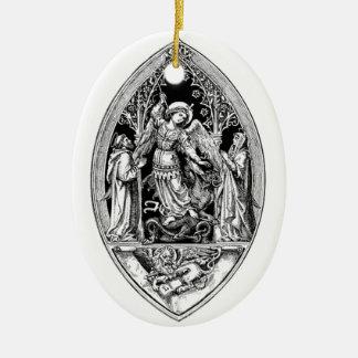 Archangel Michael Ceramic Ornament