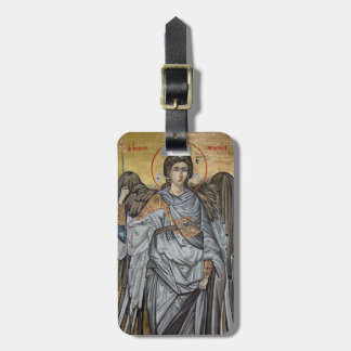Archangel Michael Luggage Tag