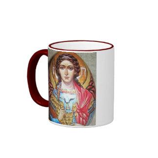 Archangel Michael Ringer Mug