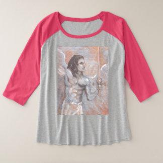 Archangel Michael Plus Size T-shirt