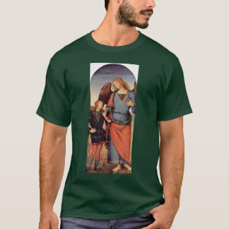 Archangel Raphael And Tobias Small T-Shirt