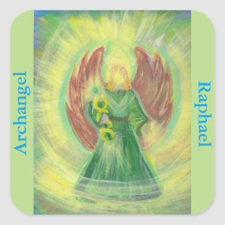 Archangel Raphael Healing Light Sticker