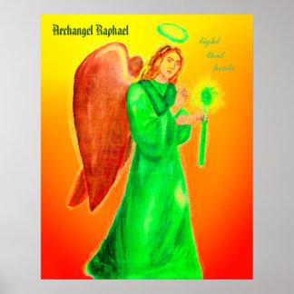 "Archangel Raphael Poster 24""x24"""