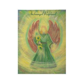 Archangel Raphael Poster Wood Poster