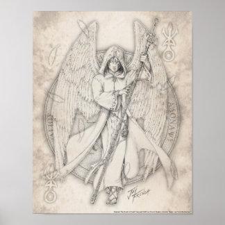 Archangel Raphael Print