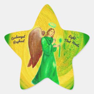 Archangel Raphael Star Stickers