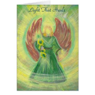 Archangel Raphael: The Light That Heals Card