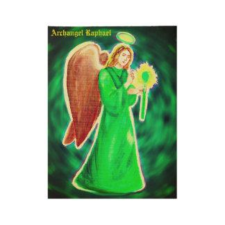 Archangel Raphael Wood Poster#1 Wood Poster