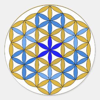 Archangel Sandalphon2 Classic Round Sticker