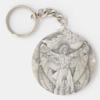 Archangel Uriel Keychain