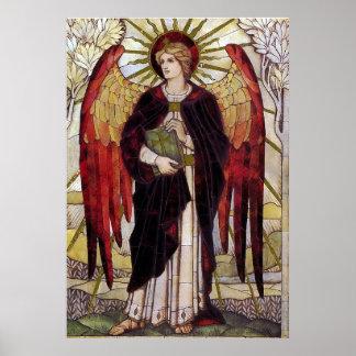Archangel Uriel Poster
