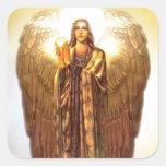 Archangel Uriel Square Sticker