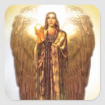 Archangel Uriel Square Stickers