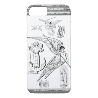 Archangels With Spear And Lizard iPhone 8/7 Case