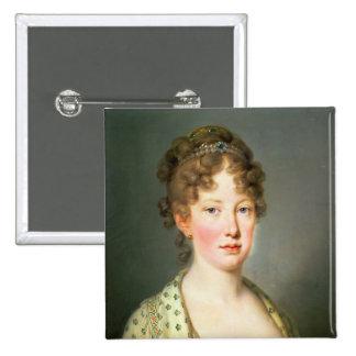 Archduchess Leopoldina of Austria Pin
