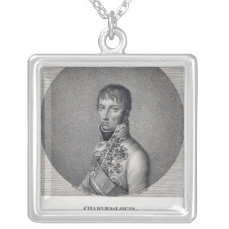 Archduke Charles of Austria Silver Plated Necklace
