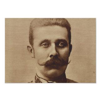 Archduke Franz Ferdinand of Austria Custom Announcement