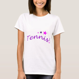 Arched Tennis with Stars T-Shirt