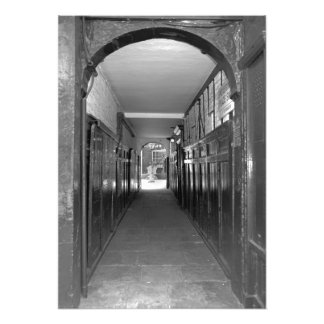 Arched transition photo print