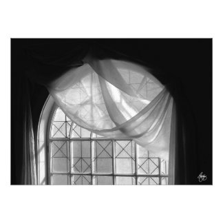 Arched Window Monochrome No 1 Open Edition Print