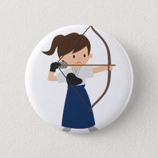 Archer 6 Cm Round Badge