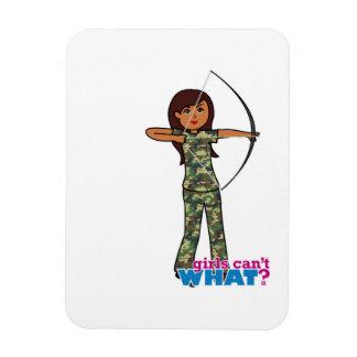 Archer Girl in Camo - Dark Magnets