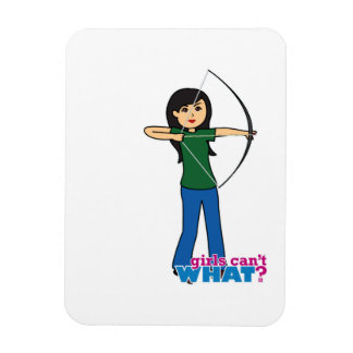 Archer - Medium Vinyl Magnet
