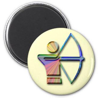 Archer with Bow & Arrow Magnet