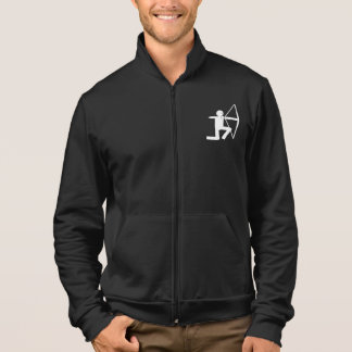 Archer's Fleece Jacket - white archer