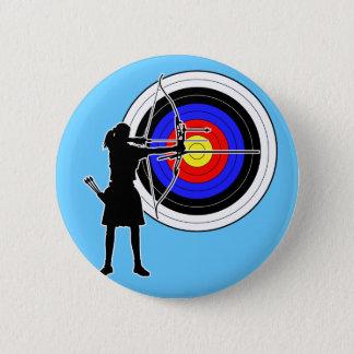 Archery3 6 Cm Round Badge