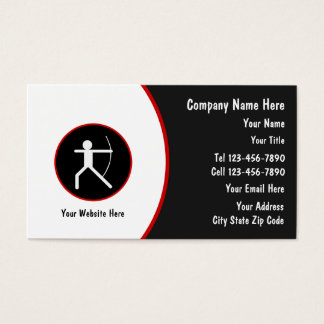 Archery Business cards