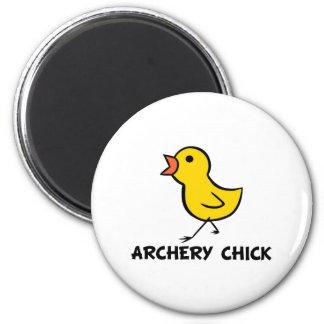 Archery Chick Magnet