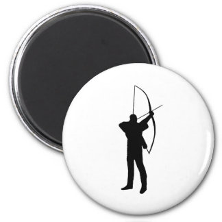 Archery club magnet