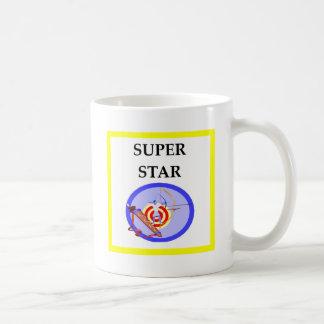 archery coffee mug