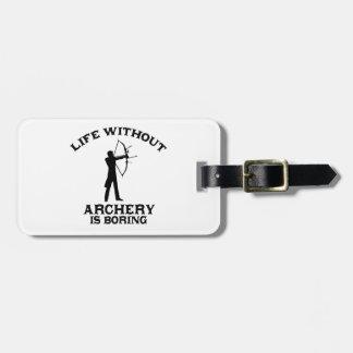 Archery DESIGNS Luggage Tag