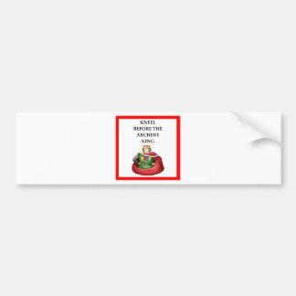 Archery gifts bumper sticker