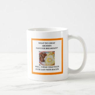 Archery gifts coffee mug