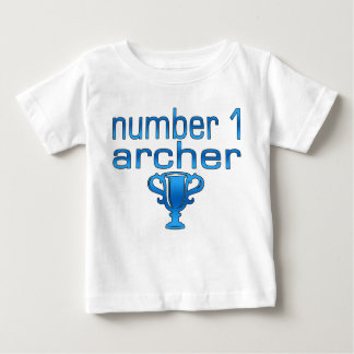 Archery Gifts for Him: Number 1 Archer Baby T-Shirt