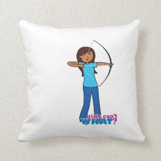 Archery Girl Pillows